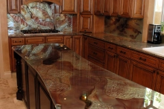Traditional countertop