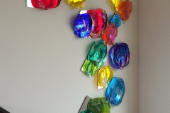 Rainbow Garden wall pieces